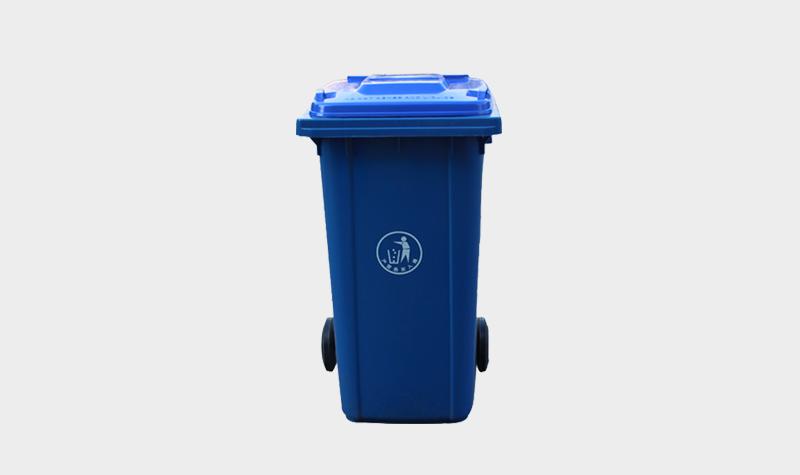 240L加厚塑料垃圾桶