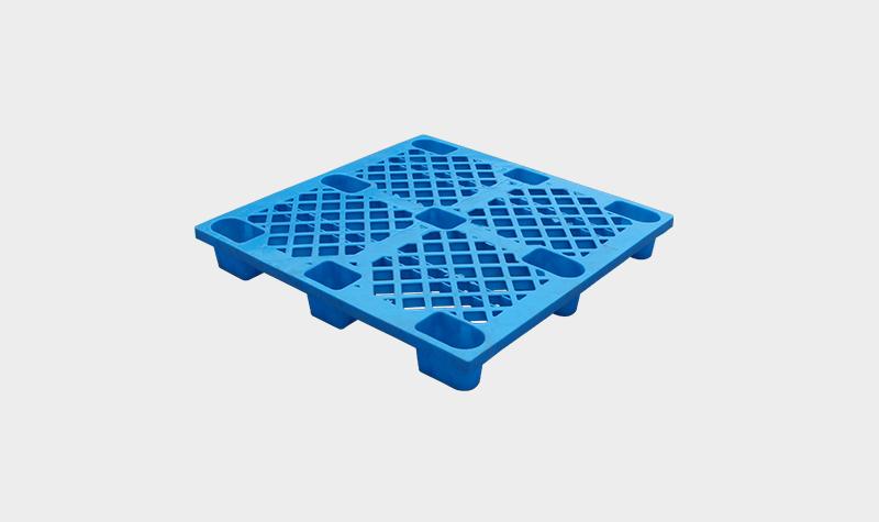1111网格轻型九脚型塑料托盘