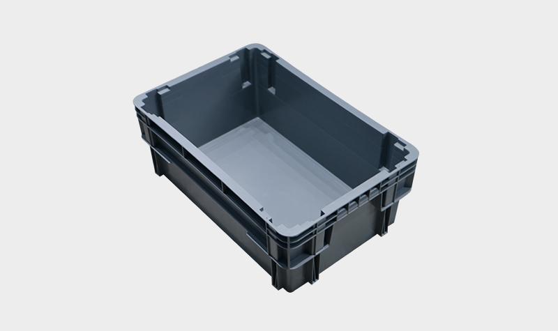 600-230塑料错位物流箱