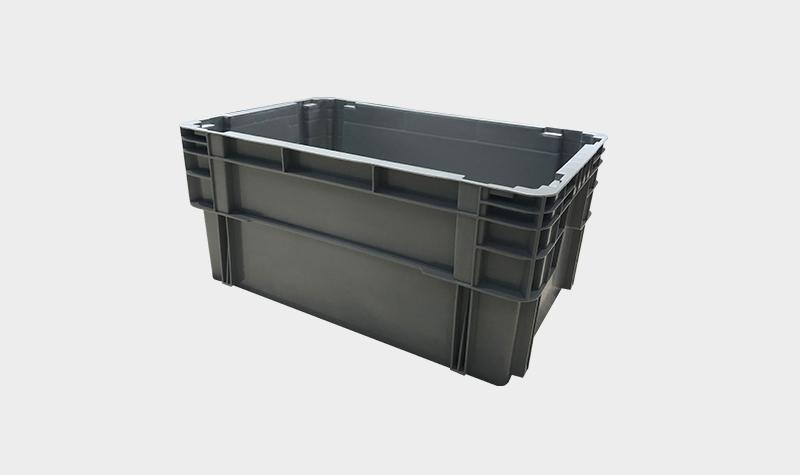 600-280塑料错位物流箱