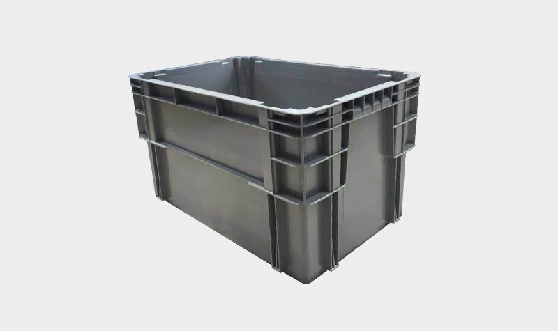 600-340塑料错位物流箱